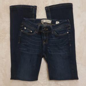 BKE Addison Bootcut Dark Wash Jeans sz 27